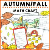 Autumn Fall Math Craft Activities
