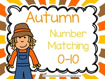 Autumn (Fall) Number Matching