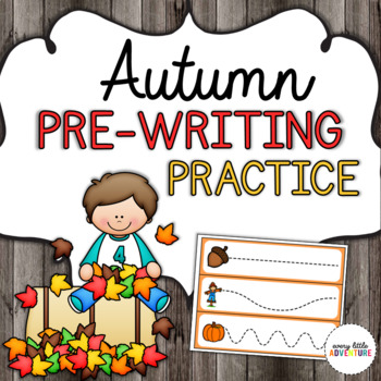 Autumn/Fall Pre-Writing Practice