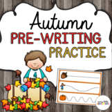 Autumn/Fall Pre-Writing Practice
