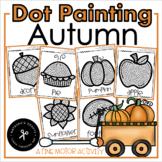 Q-tip Painting / November / Autumn / A Fine Motor Activity