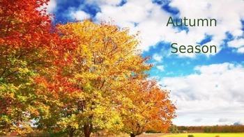 Autumn Fall Season Power Point - Holidays Weather Animals