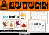 Autumn / Fall Sight Word Fluency Flip Books