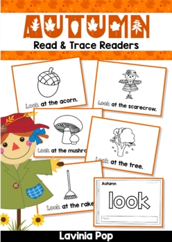 Autumn / Fall Sight Word Read & Trace Readers
