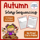 Autumn/Fall Story Sequencing Cut & Paste