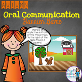 Autumn (Fall) Themed Barrier Game for Oral Communication