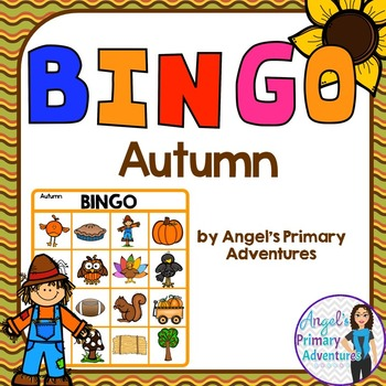 Autumn (Fall) Themed Bingo Game
