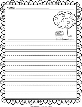 fall themed writing paper Fall lesson plans, themes students create descriptive autumn similies to write on fall-themed paper writing paper, bookmarks.