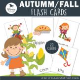 Autumn/Fall Flash Cards