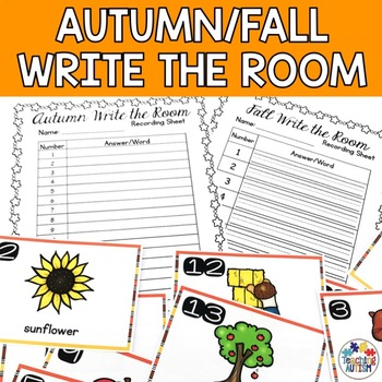 Autumn / Fall Write the Room
