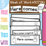 Autumn / Fall Writing Activities {Week of Writing Booklet}