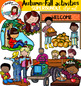 Autumn-Fall activities Big set of 52 items!
