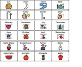 Autumn Fall themed unit; self-contained special ed packet, Boardmaker symbols