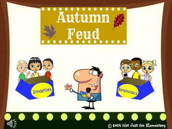 Autumn Feud Powerpoint Game