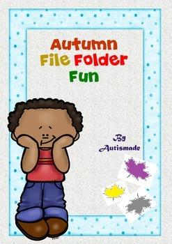 Autumn File Folder Fun