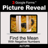 Autumn: Find the Mean with negative numbers - Google Forms