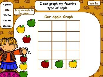 Autumn: Flipchart and Worksheets