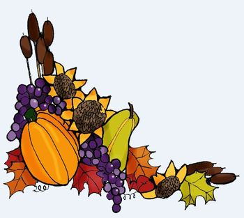 Clip Art: Autumn Nature and Flowers by HeatherSArtwork