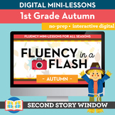 Autumn Fluency in a Flash 1st Grade • Digital Fluency Mini