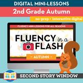 Autumn Fluency in a Flash 2nd Grade • Digital Fluency Mini