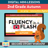 Autumn Fluency in a Flash 2nd Grade • Digital Fluency Mini
