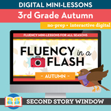 Autumn Fluency in a Flash 3rd Grade • Digital Fluency Mini