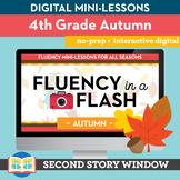 Autumn Fluency in a Flash 4th Grade • Digital Fluency Mini