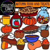 Autumn Food and Treats {Creative Clips Digital Clipart}