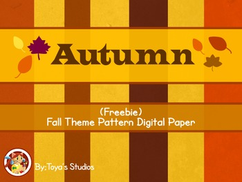 Autumn - Free Autumn theme clipart!