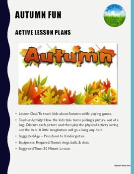 Autumn Fun - Active Lesson Plan