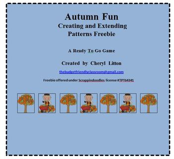 Autumn Fun Creating and Extending Patterns