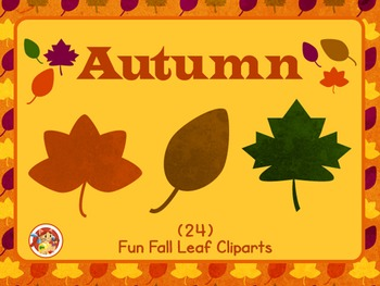Autumn - Fun Fall Leaf Cliparts!