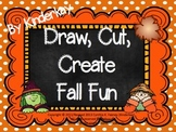 Draw Cut Create Fall Fun Pack