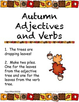 Autumn Fun Literacy Centers