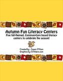 Autumn Fun Literacy Centers