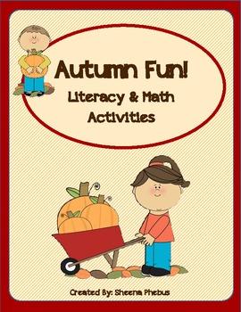 Autumn Fun! Math and Literacy Unit