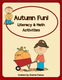 Autumn Fun! Math and Literacy Unit