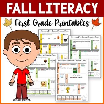 Fall No Prep Common Core Literacy (1st grade)