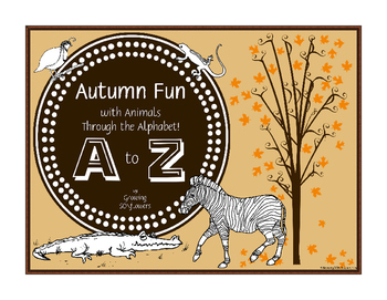 Autumn Fun with Animals Through the Alphabet