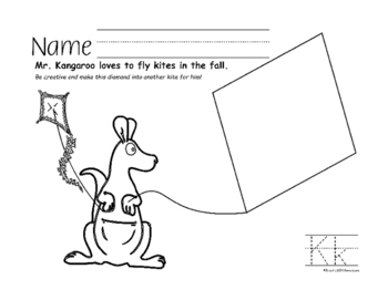 Autumn Fun Worksheets with Animals Through the Alphabet