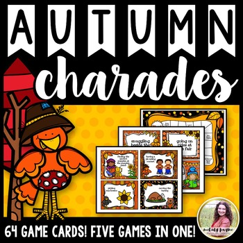 Autumn Games {5 Games in 1! 64 Fall-Themed Phrases & Pictu