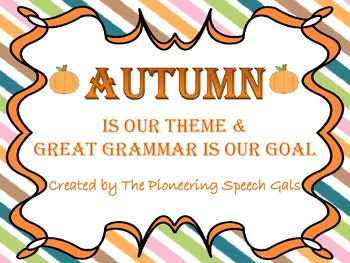 Autumn Grammar Bundle