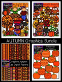 Autumn Graphics Bundle {Creative Clips Digital Clipart}