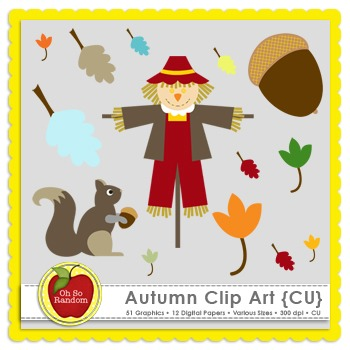 Autumn {Graphics for Commercial Use}