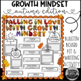 Autumn Growth Mindset Bulletin Board Kit and Writing Activity
