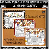 Autumn Growth Mindset Bulletin Board Kits Bundle