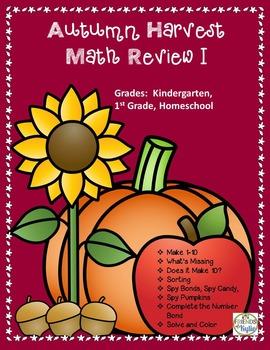 Make 1-10 Math Review I  No Prep and Ready 2 GO