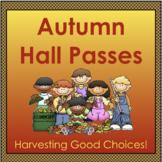 Autumn Hall Passes