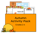 Autumn/Halloween Activity Pack Grades 2-4