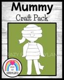 Mummy Craft for Kindergarten: (Halloween, Fall, Autumn, Trick-or-Treat)